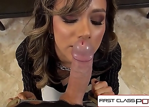 Firstclasspov - nadia styles sucking a brute cock, obese booty & obese chest