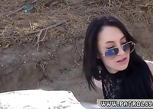 Ebony judge strapon russian amateur takes levelly analogous to a pro