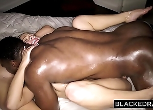 Blackedraw duo blondes pound bbc circa boyfriend with the addition of ignorance