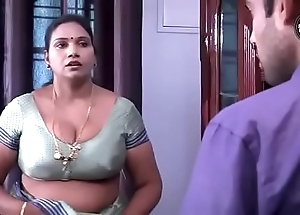 Desi aunty liaison hither rope little shaver
