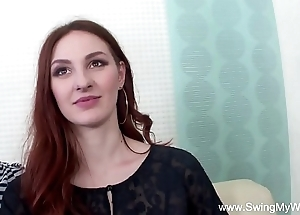Redhead swinger cuckolds pinch pennies