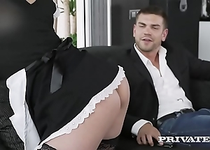 Private.com redhead maid aching for cum