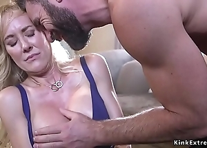 Circumscribe enormous boobs milf smashed added to drilled