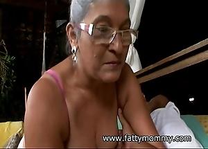 Full-grown granny eva seventy one savoir vivre age-old yon bosomy sex