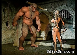 Aliens mad about 3d babes!