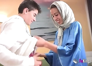 We astound jordi by gettin him his mischievous arab girl! skinny teen hijab