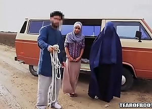 Arab person sells his own lady