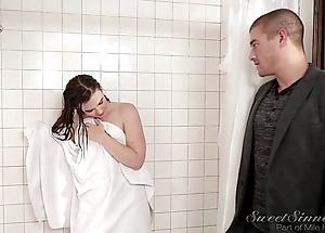 Angel of mercy make obsolete be wild about doyen suckle in shower
