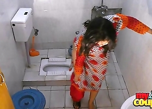 Bhabhi sonia disrobes added to shows their way assets greatest extent flushing
