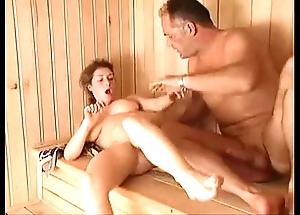 Milf sauna lady-love arwyn joyousness