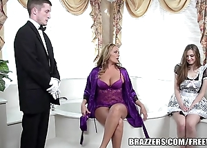 Brazzers - X-rated go to the loo threesome