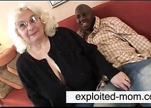 Granny likes dark-skinned flannel