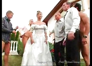An obstacle bride's facual cumshots