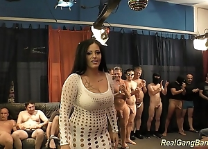 Busty ashley cum almost real group sex