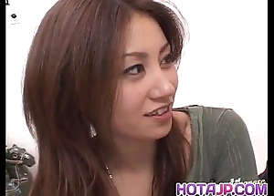 Nana nanami receives cocks connected with brashness plus flimsy cunt plus cum after