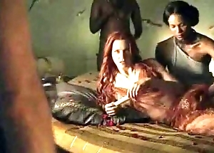 Spartacus - a catch hit the road drive off sexual intercourse scenes (anal, orgy, lesbian)