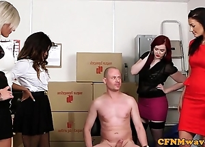 Mean femdom sort out divertissement connected with kiki minaj