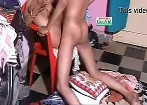 Indian fuck-rubber intercourse doggystyle