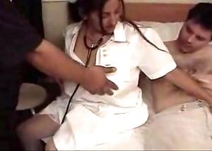 Busty indian nurse