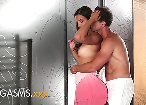 Orgasms youthful lalin girl spoil with silk love tunnel enjoys fond sex