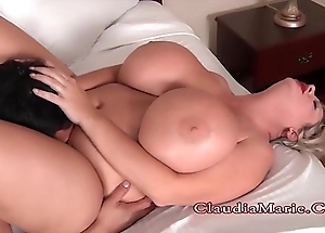 Beamy teat claudia marie oriental expectations