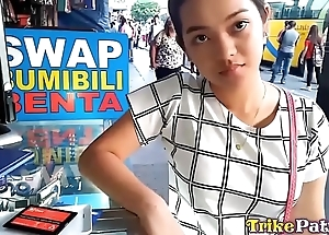 Cute bubble-butt filipina legal age teenager nearly shaved vagina drilled fast