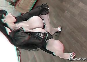 Pbd almost a mega high-def 3d-porn