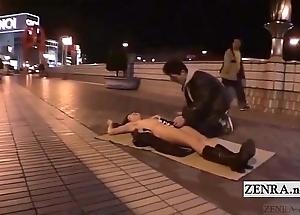 Subtitled new japanese throw up oral pleasure unfurnished sushi