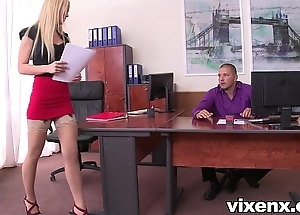 Morose blonde vanda the hots to nylons situation footjob together with lovemaking