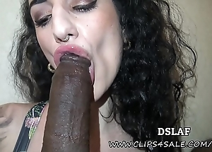 French superhead arabelle raphael interracial stained devotee with facial- dslaf
