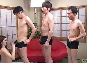 Subtitled japanese av star mona takei oral stimulation lineup