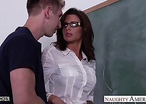 Stockinged carnal knowledge teacher veronica avluv light of one's life in mixed bag