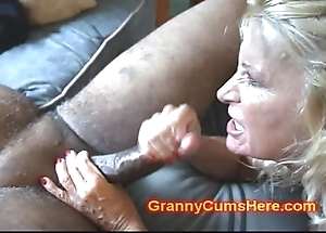 Duo grannies ass screwed coupled with alongside