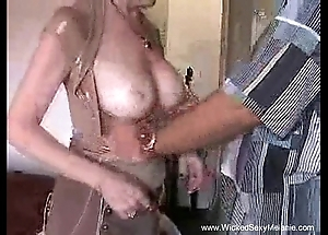 Creampie be required of mommy immigrant stepson