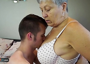 Agedlove granny savana drilled more really fixed appertain