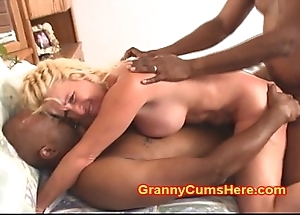 Granny acquires arse drilled much the same as a old bag