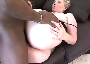 Granny frowardness have sexual intercourse deepthroat oral-service swallowing cum chips cum-hole sageness