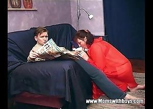 Stepmom teaches stepson back verified porn
