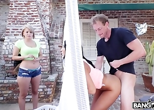 Bangbros - big chest down butts newborn ceremony ames copulates her election