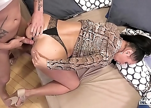Unusual inlaws - entangled anal carnal knowledge beside russian milf eva ann with the addition of juvenile stepson