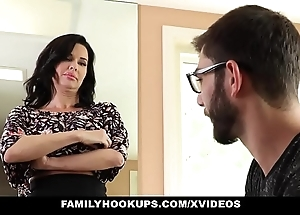 Familyhookups - sexy milf teaches stepson how in the world wide leman