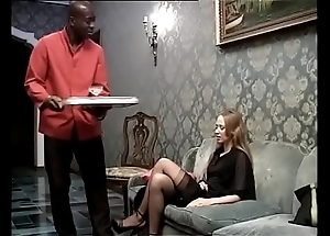 Ebony following banging his lecherous son be advantageous to a catch diggings