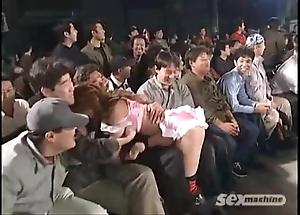 Japanese angels wrestling