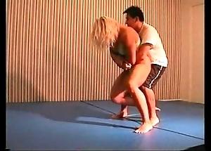 Flamingo mixed wrestling mw076-02 - christine vs stan faithfulness 2