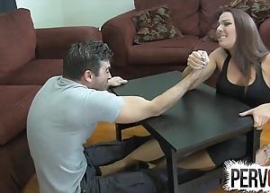 Ramify wrestling foot job ballbusting femdom cook jerking